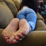 pieds de femme noire