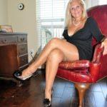 jambes de femme mûre