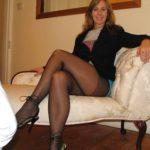 jambes de femme mature