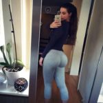 gros derche en leggings
